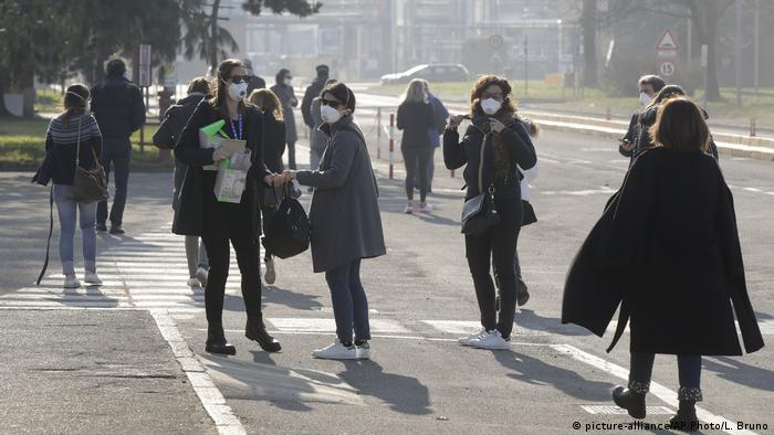 Italien Coronavirus in Casalpusterlengo (picture-alliance/AP Photo/L. Bruno)