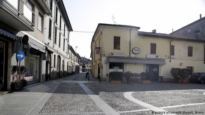 Italien Coronavirus in Codogno (picture-alliance/AP Photo/L. Bruno)