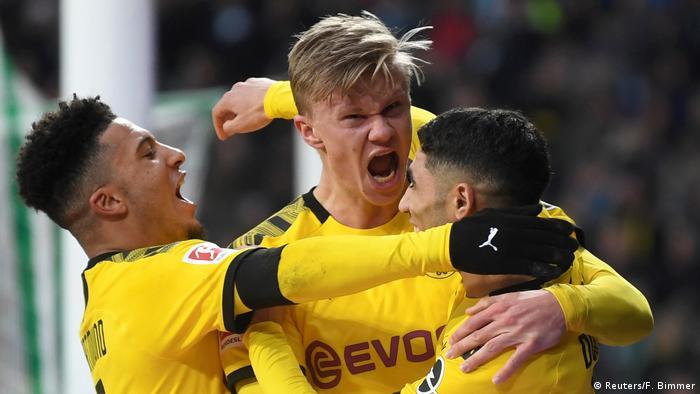 Fußball Bundesliga Werder Bremen - Borussia Dortmund (Reuters/F. Bimmer)
