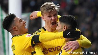 Fußball Bundesliga Werder Bremen - Borussia Dortmund