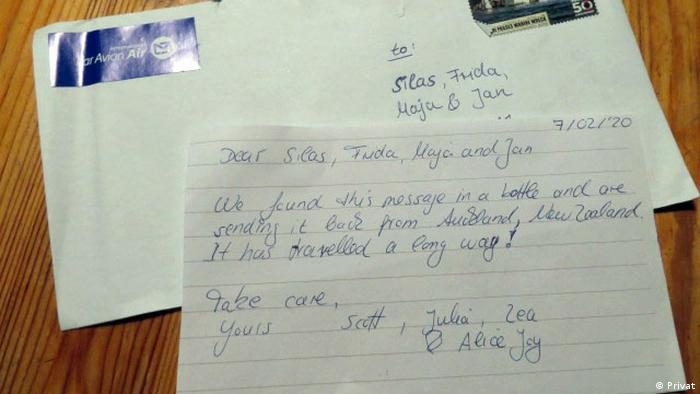 The letter from New Zealand (Privat)