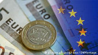 Symbolbild Griechenland Finanzen EU Europa
