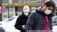 Iran Coronavirus | Vorsichtsmaßnahmen in Teheran