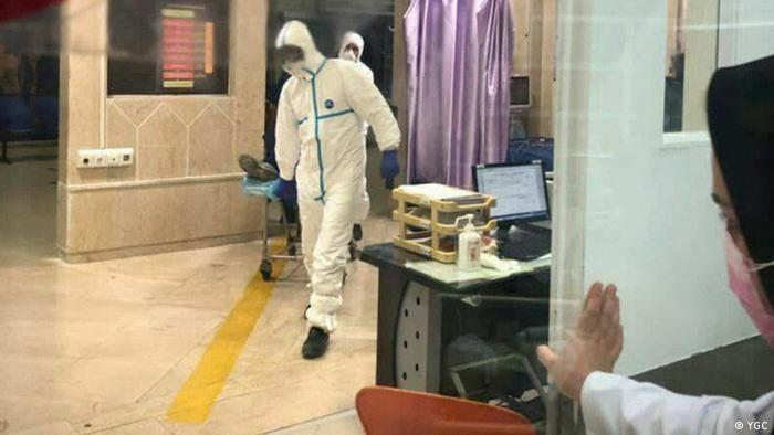 Iran Coronavirus patient in Mashhad