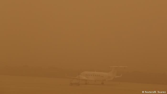 Canary Islands suspend flights and carnival as Saharan sand storm rages