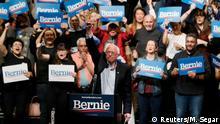 US-Präsidentschaftskandidat: Bernie Sanders in El Paso, Texas