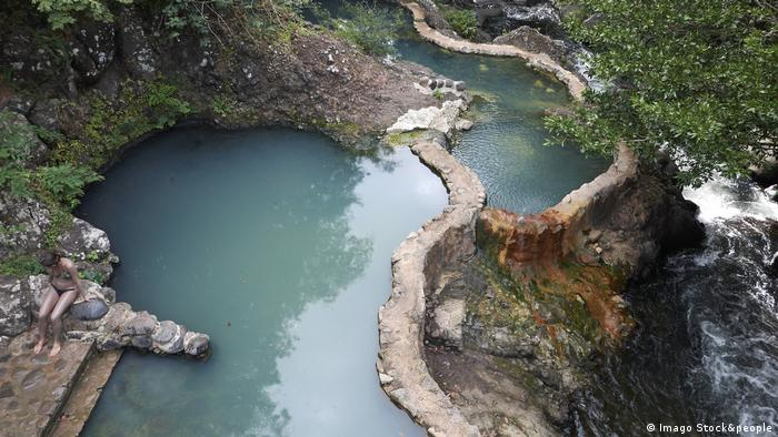 Aguas termales en Cost Rica