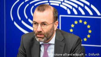 Глава фракції християнсько-демократичних партій у Євпропарламенті Манфред Вебер