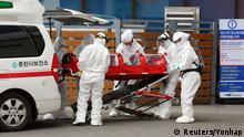 Südkorea Chuncheon Moon Jae-in verhängt höchste Alarmstufe wegen Coronavirus