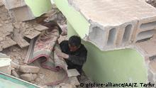 Turkei Van   Erdbeben an der Grenze Iran- türkischen Grenze