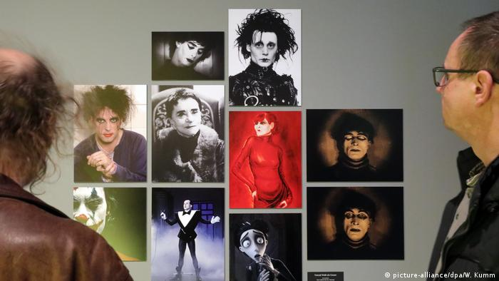 A photo of an exhibition in Berlin about The Cabinet of Dr. Caligari (picture-alliance/dpa/W. Kumm)