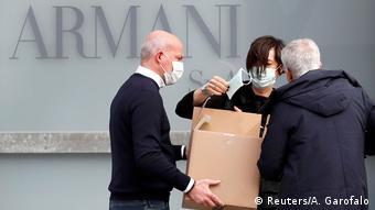 Italien Coronavirus Mailand (Reuters/A. Garofalo)