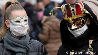 To φετινό Καρναβάλι της Βενετίας έχει στιγματιστεί από τον κορωνοϊό