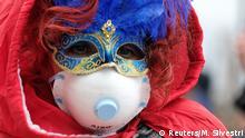 Italien Coronavirus Venedig