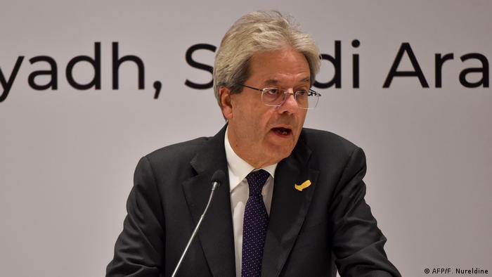 Paolo Gentiloni (AFP/F. Nureldine)