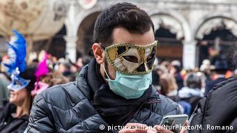 Italien Coronavirus | Karneval von Venedig