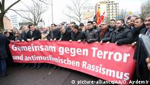 Protest in Hanau (picture-alliance/AA/D. Aydemir)