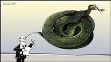 DW-Karikatur von Vladdo | Hassrede
