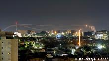 Israelischer Luftangriff südlich des Gazastreifens