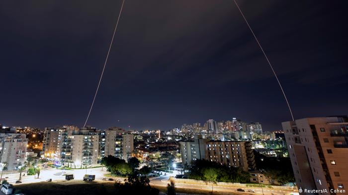 Israel Iron dome (Reuters/A. Cohen)