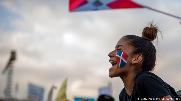 Dominikanische Republik - Proteste vor anstehenden Wahlen (Getty Images/AFP/E. Santelices)