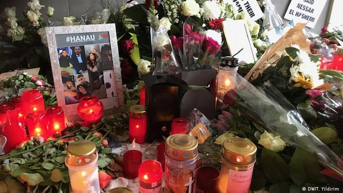 Deutschland, Hanau: Protest gegen Rechts