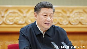 China: Xi Jinping zu COVID-19 (picture-alliance/J. Peng)