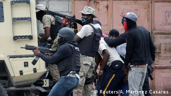 Port-au-Prince gunfire exchange