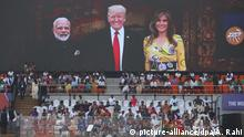 US-Präsident Trump in Indien