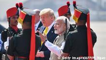 Indien | Donald Trump auf Staatsbesuch in Indien