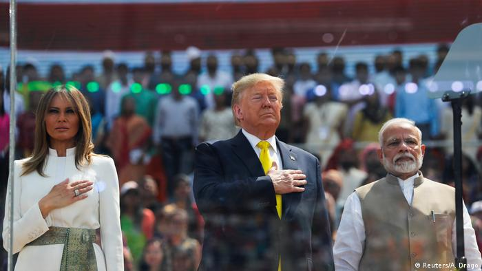 Trump says US keen to boost defense sales to India