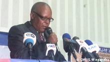 24.2.2020, Hawassa Süd Äthiopien, Oppositionsparteien diskutieren über die bevorstehenden Wahlen in Hawassa Süd Äthiopien, Pro Merera Gudina vorsitzender OFECO