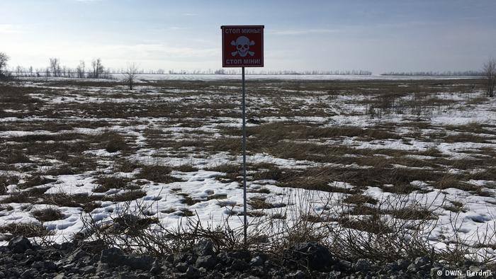 На лінії розмежування на Донбасі