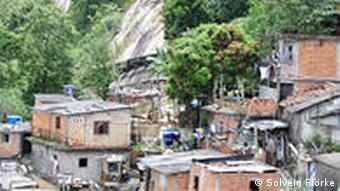 Die Favela Santa Marta(Foto: Solveig Flörke)