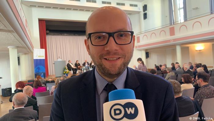 Manuel Sarrazin, MdB Bündnis90/Die Grünen (DW/A. Feilcke)