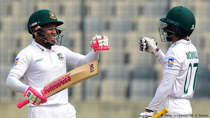 Cricket Testspiel zwischen Bangladesch und Zimbabwe - Mominul Haque