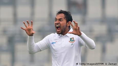 Cricket Testspiel zwischen Bangladesch und Zimbabwe -Mushfiqur Rahim (Getty Images/AFP/M. U. Zaman)