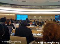 نشست شورای حقوق بشر در باره ایران