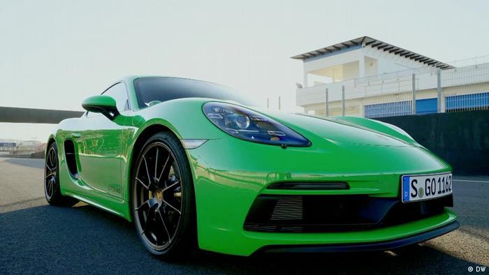 DW Sendung REV.olution Porsche 718 Cayman GTS