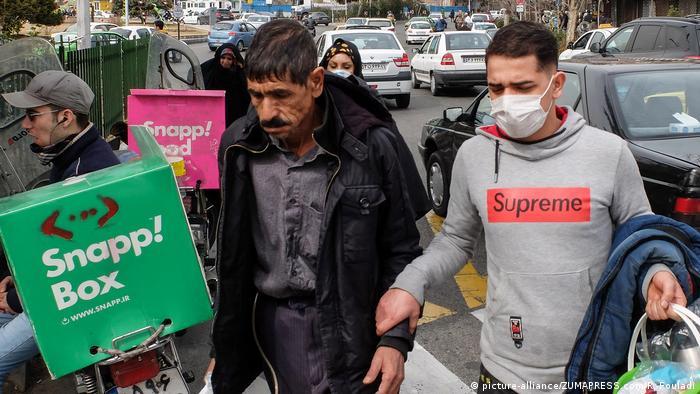 Ausbruch des Corona-Virus im Iran 2020