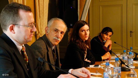 حضور فعالان حقوق بشر در حاشیه اجلاس حقوق بشر در ژنو