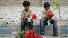 Iran, Kinderarbeit Schlagwörter: Iran, Kinderarbeit, children worker, Blumenverkäufer Rechte: ISNA