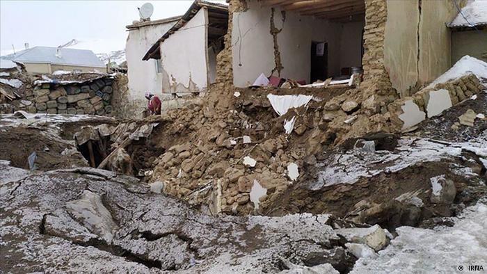 Erdbeben im Iran