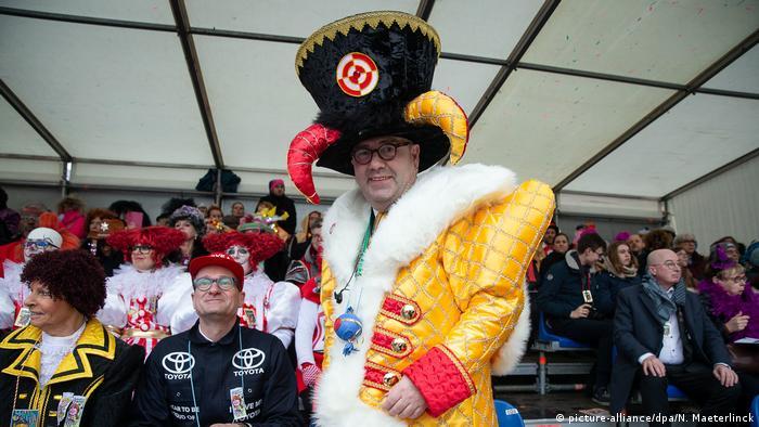 Beligen Karneval in Aalst am Rosenmontag (picture-alliance/dpa/N. Maeterlinck)