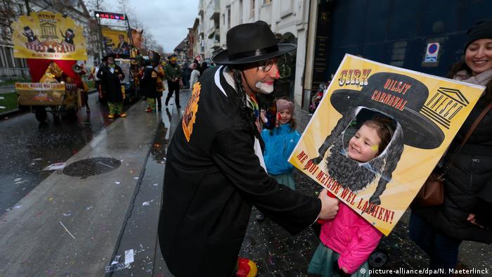 Judenfeindlicher Karneval in Belgien