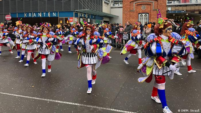 Beligen Karneval in Aalst am Rosenmontag (DW/M. Strauß)