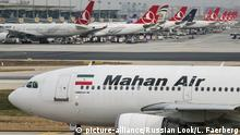 Türkei Ataturk International Airport in Istanbul Mahan Air A310 (picture-alliance/Russian Look/L. Faerberg)