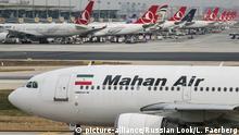 Türkei Ataturk International Airport in Istanbul Mahan Air A310