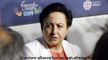 Italien Festival Lavaro 2019 Shirin Ebadi