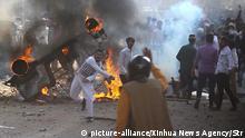 Indien Unruhen in Neu Delhi